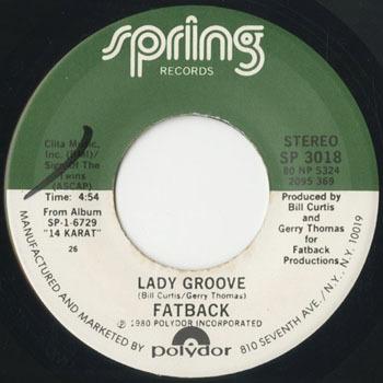 FATBACK Lady Groove_20200512