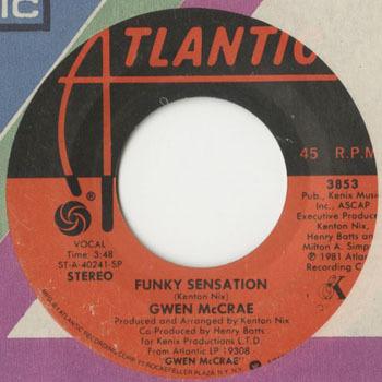 GWEN McCRAE Funky Sensation_20200512