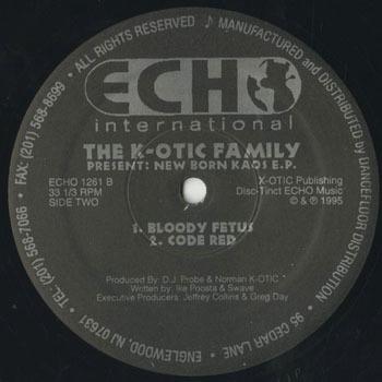 K OTIC FAMILY New Born Kaos EP_20200518
