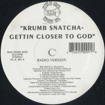 KRUMB SNATCHA Gettin Closer To God_20200518