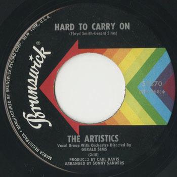 ARTISTICS Hard To Carry On _20200525