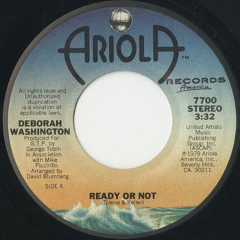 DEBORAH WASHINGTON Ready Or Not_20200525