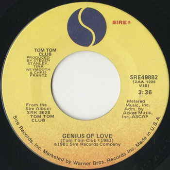 TOM TOM CLUB Genius Of Love_20200525