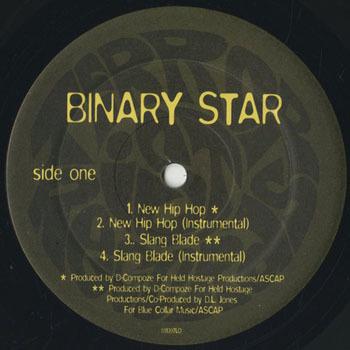 BINARY STAR New Hip Hop_20200710