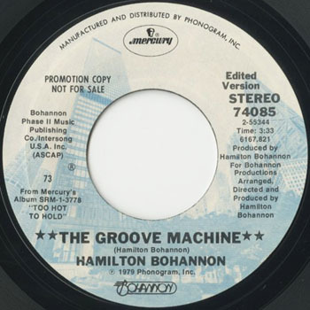 HAMILTON BOHANNON The Groove Machine_20200718