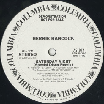 HERBIE HANCOCK Saturday Night_20200723