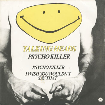 TALKING HEADS Psycho Killer_20200802