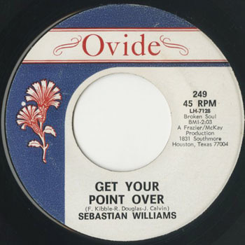 SEBASTIAN WILLIAMS Get Your Point Over_20200927