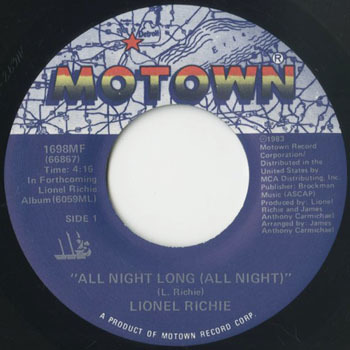 LIONEL RICHIE All Night Long_20201018