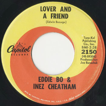 EDDIE BO and INEZ CHEATHAM Lover And A Friend_20201121