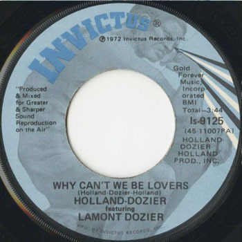HOLLAND DOZIER feat LAMONT DOZIER Why Cant We Be Lovers_20201121