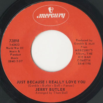 JERRY BUTLER Just Because I Really Love You_20201121