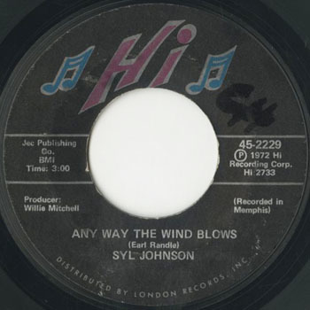 SYL JOHNSON Any Way The Wind Blows _20201121