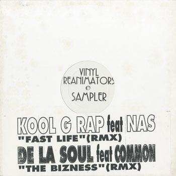 KOOL G RAP DE LA SOUL Vinyl Reanimators Sampler_20200126