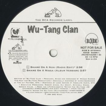 WU TANG CLAN Shame On A Nigga_20210126