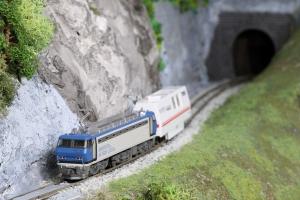EF200登場時牽引のお掃除列車