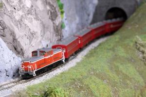 DD51-1186牽引 50系レッドトレイン