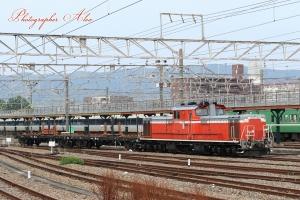 工9686レ(=DD51-1193牽引)