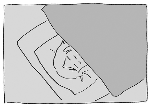 1-0403寝てたら
