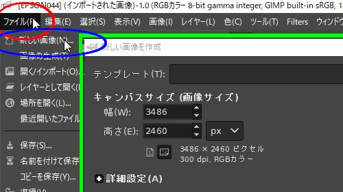 Gimpでパス022021/01/31