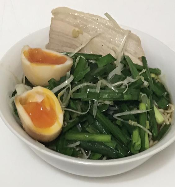 ワイ、健康に気づかい3日連続で野菜たくさん醤油ラーメンを作る