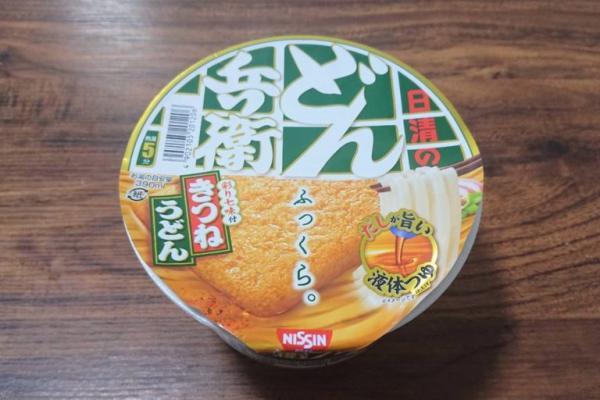 【レンチンどん兵衛】まるで生麺のような食感