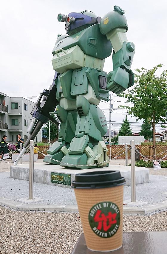 ドッグ 実物 大 スコープ JR稲城長沼駅前に実物大「スコープドッグ」登場、製作費2500万円も市の負担はゼロの理由
