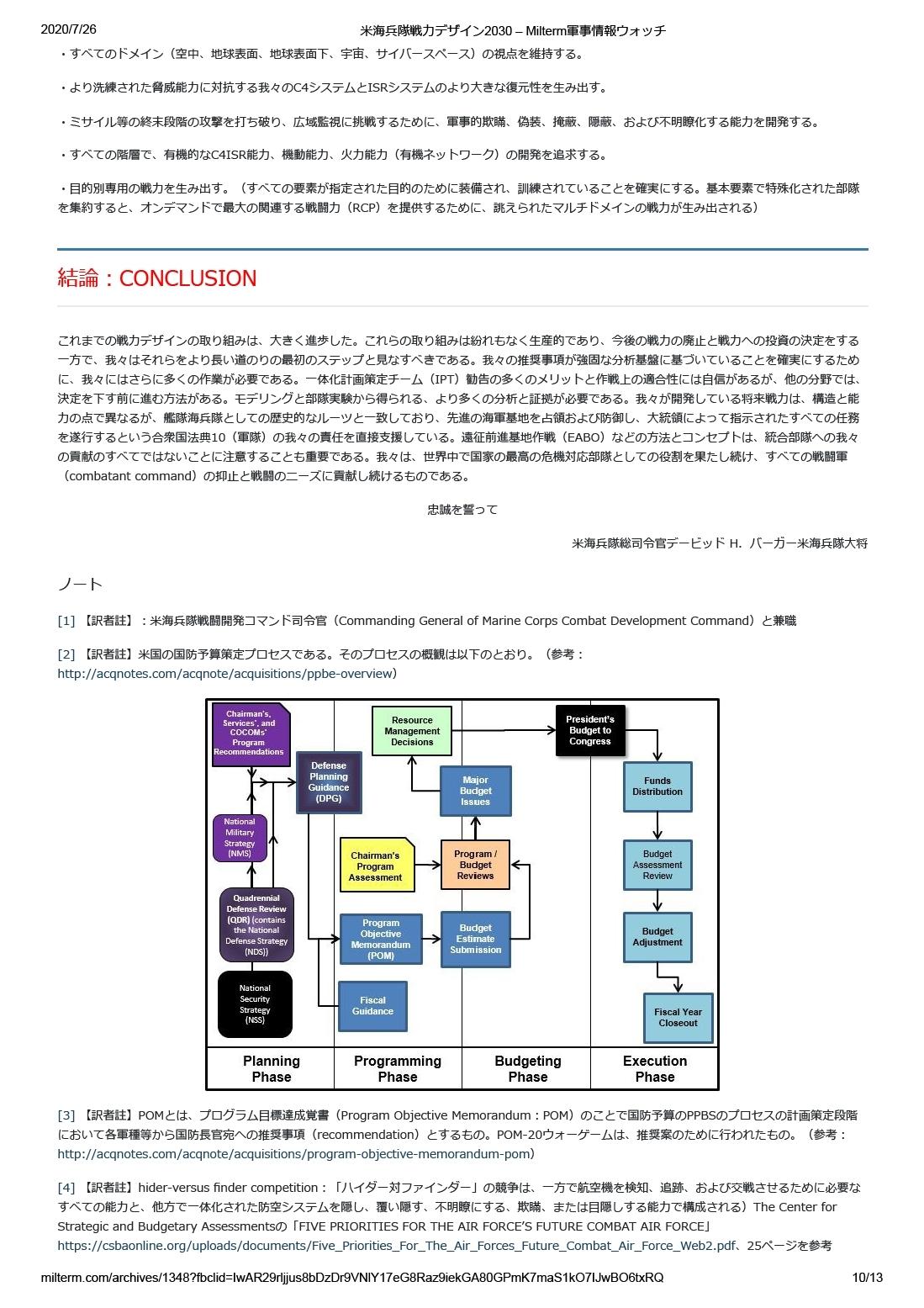 米海兵隊戦力デザイン2030 10