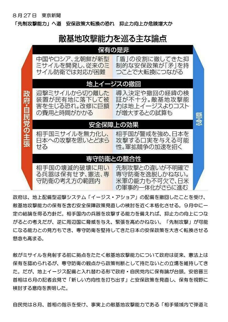 8月27日東京新聞0001