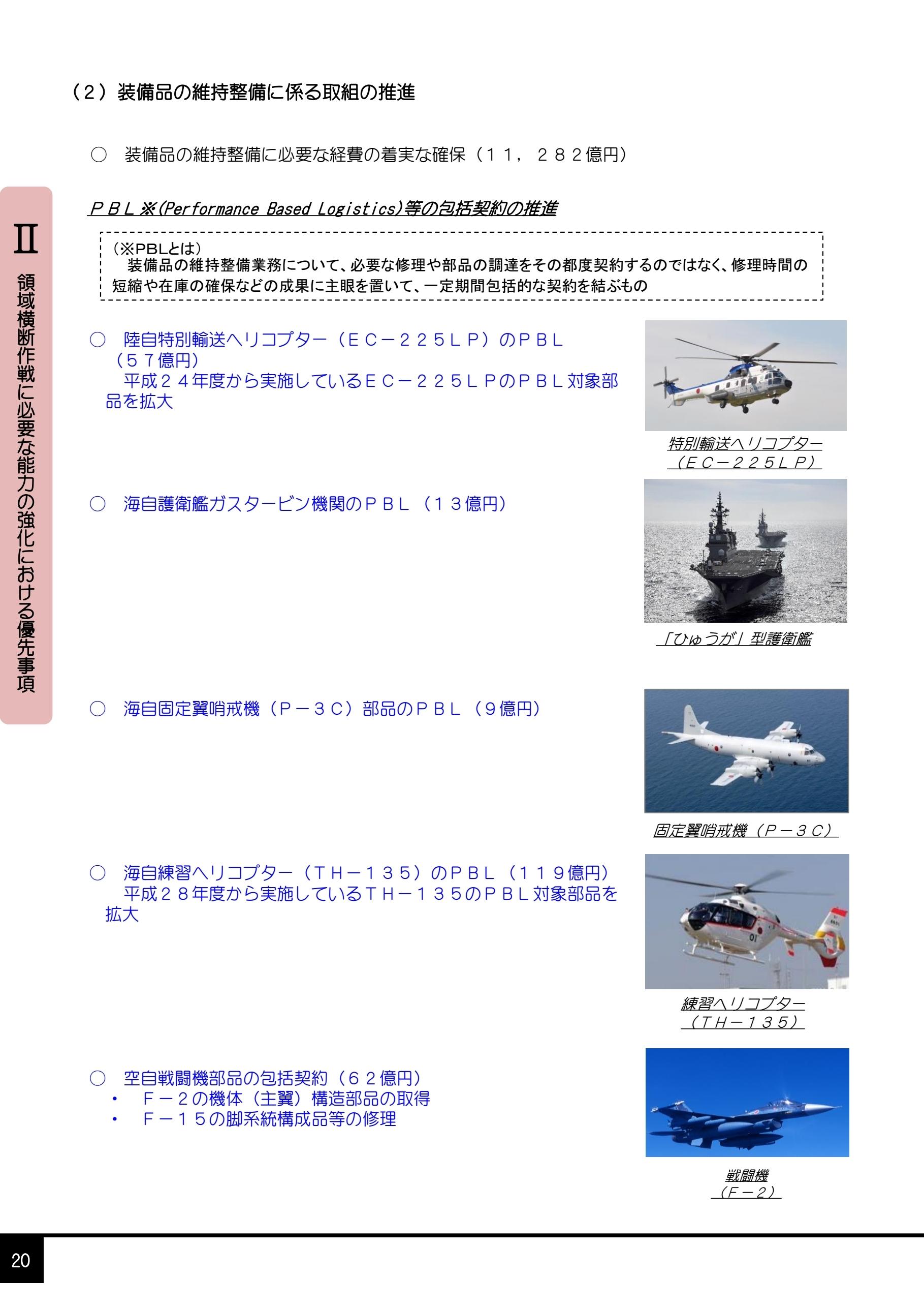 我が国の防衛と予算(案)2021年度予算の概要0024
