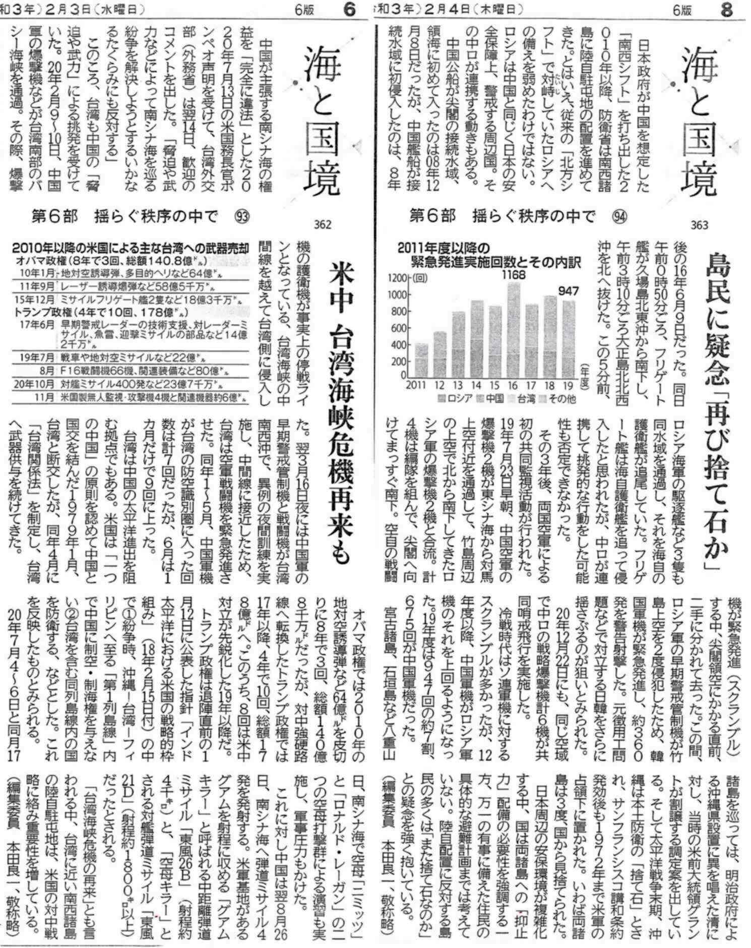北海道新聞海と国境362-363