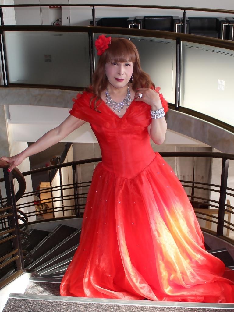 赤ドレスガーデンバレスA(2)