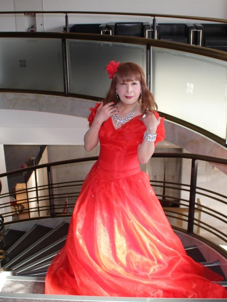 赤ドレスガーデンバレスA(3)