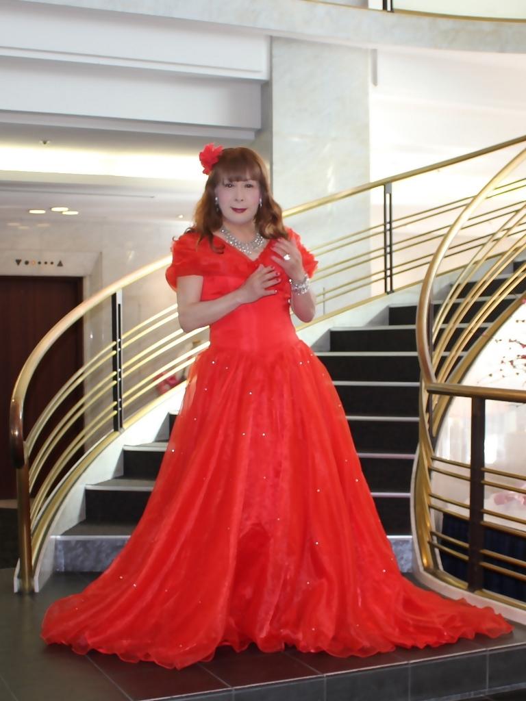 赤ドレスガーデンバレスA(4)