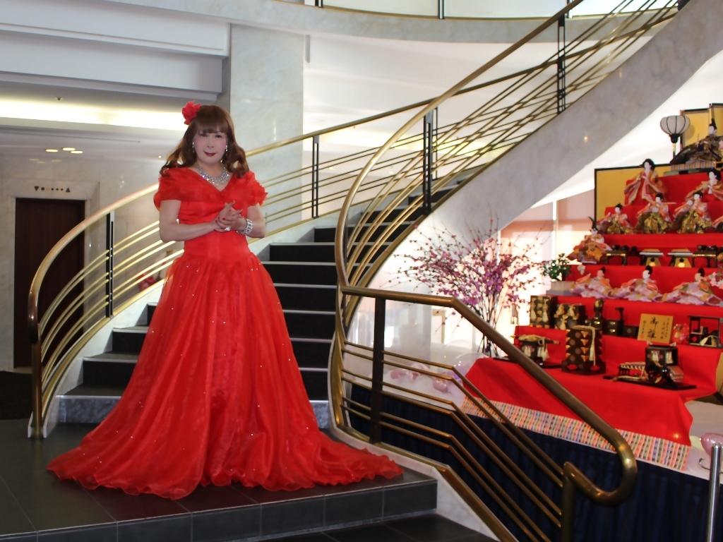 赤ドレスガーデンバレスA(5)