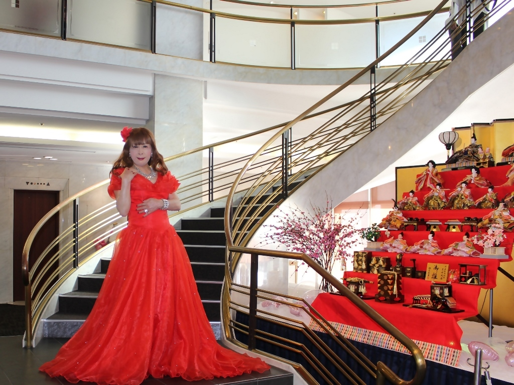 赤ドレスガーデンバレスA(6)