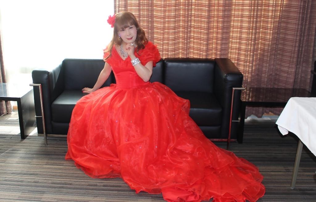 赤ドレスガーデンバレスA(8)