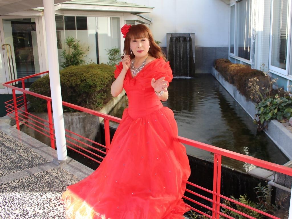 赤ドレスガーデンパレスB(5)