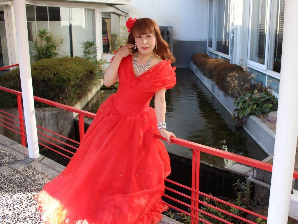 赤ドレスガーデンパレスB(6)
