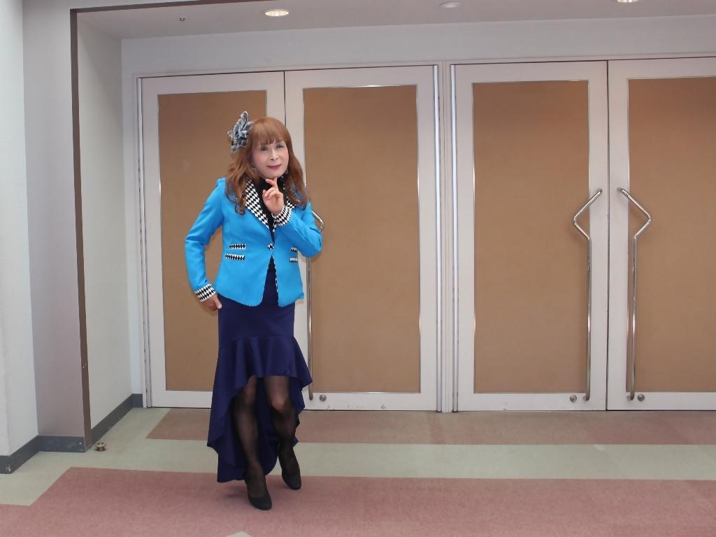 水色ジャケット紺マーメイドA(6)