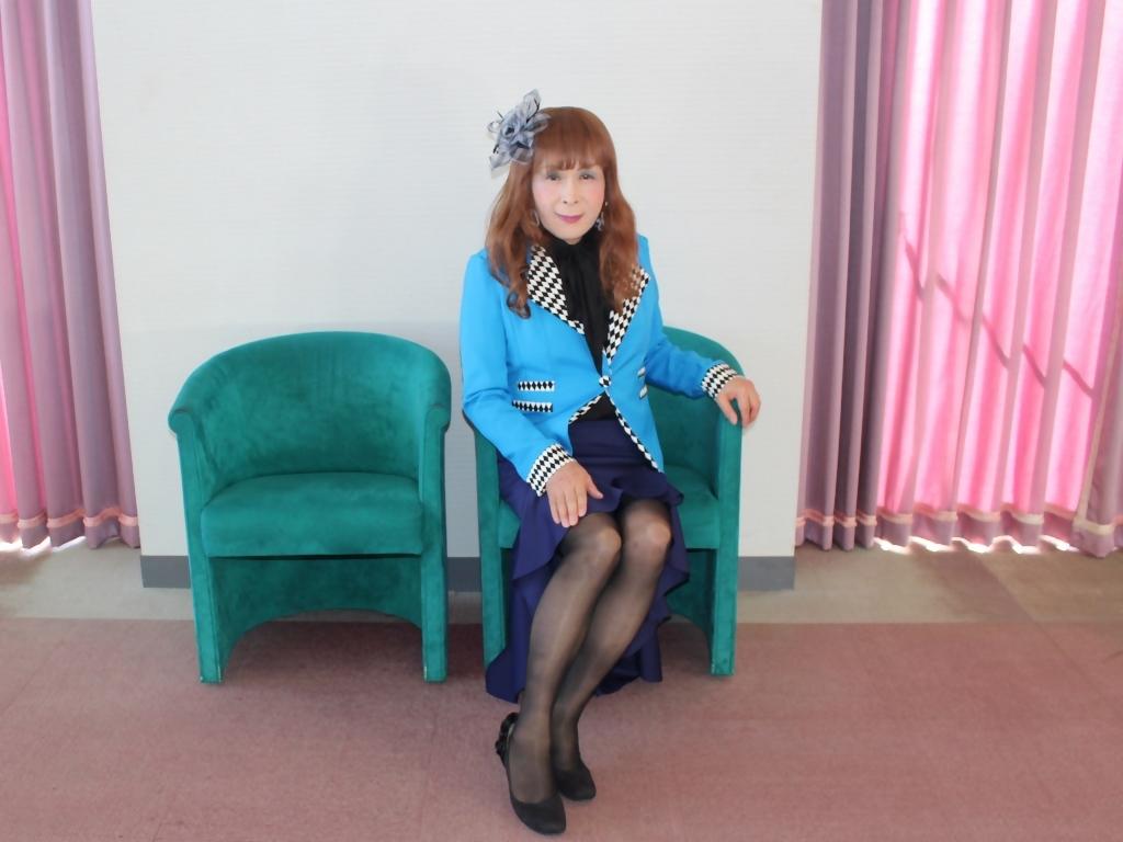 水色ジャケット紺マーメイドC(5)