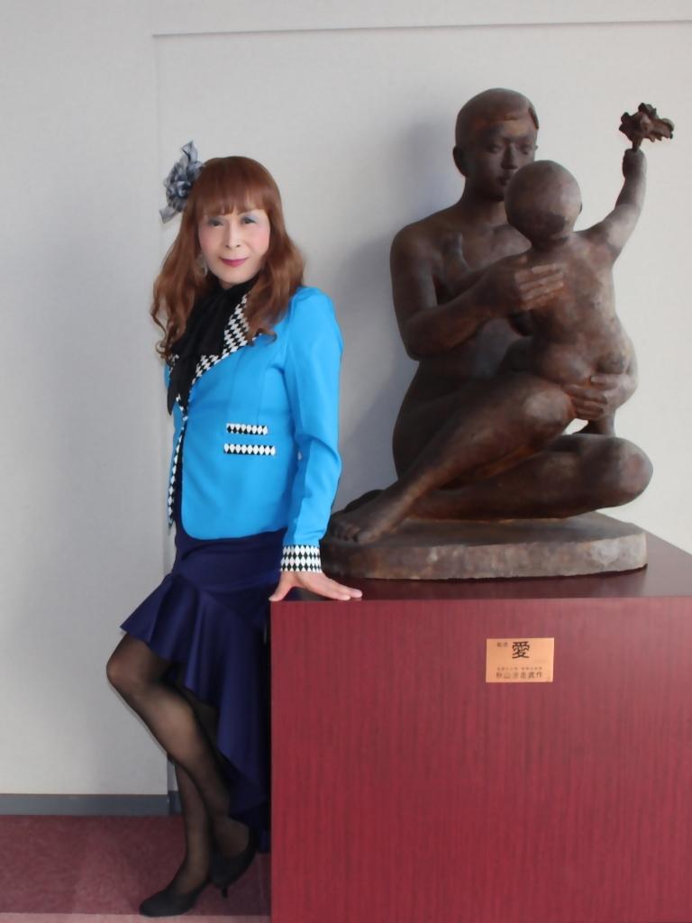 水色ジャケット紺マーメイドC(6)
