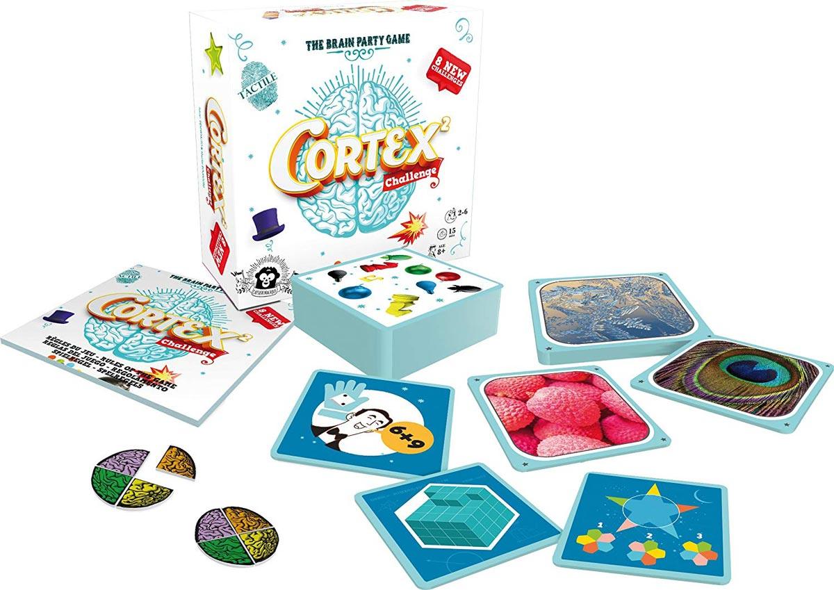 コーテックス2 ブレインチャレンジ:内容物
