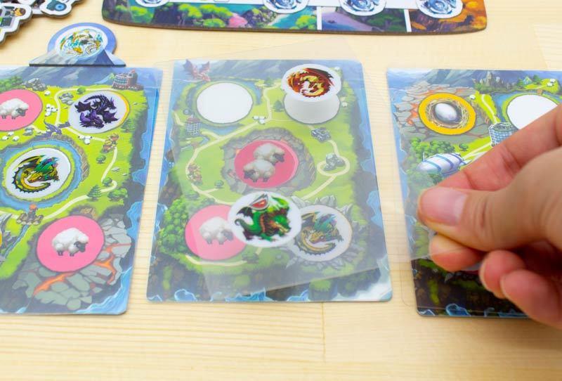 ドラゴンパークス:カード配置