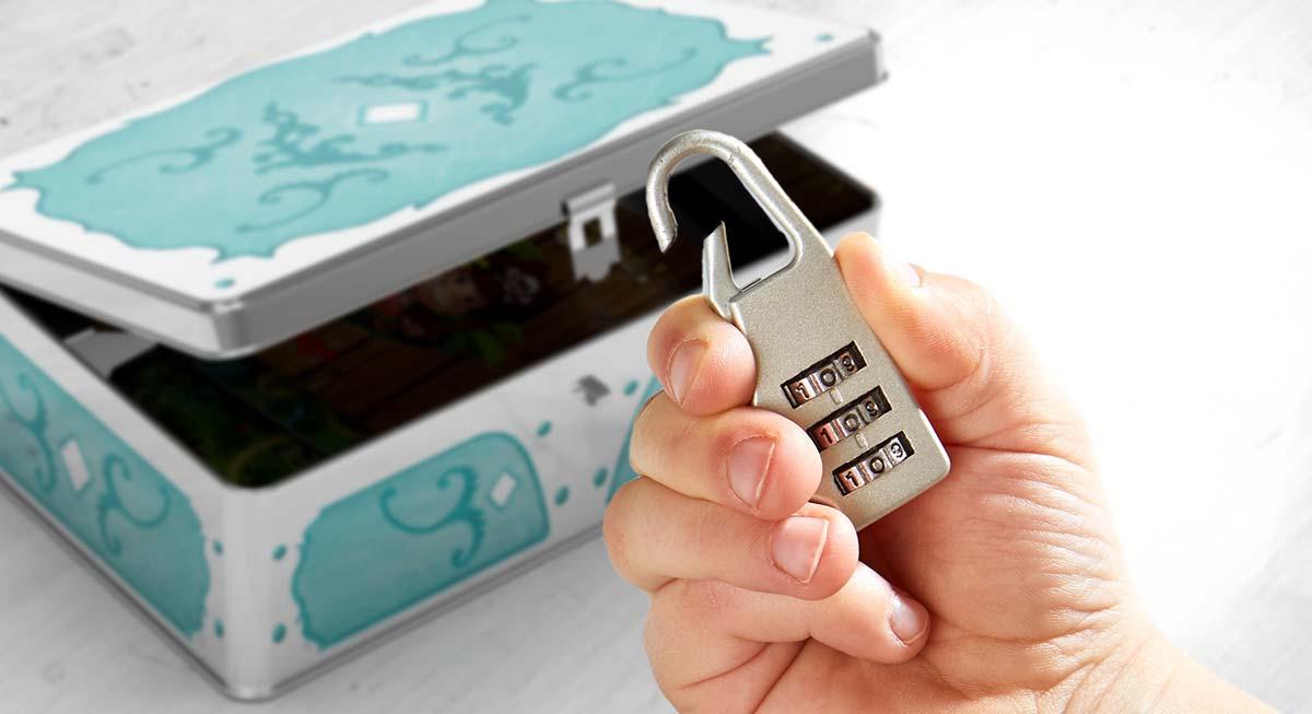 暗証番号を探せ!:本物の錠前