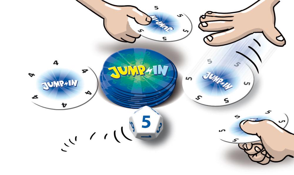 ジャンプイン:遊戯中イラスト