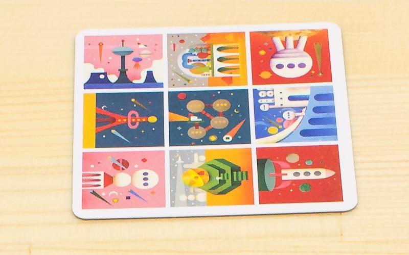 スペースビルダー:設計図カード