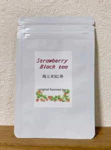 苺と和紅茶