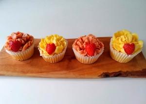 カーネーションのカップケーキ03