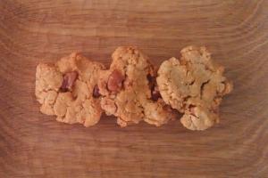 きなことナッツのクッキー